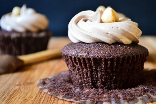 Nutella Cupcakes from Vanillyn
