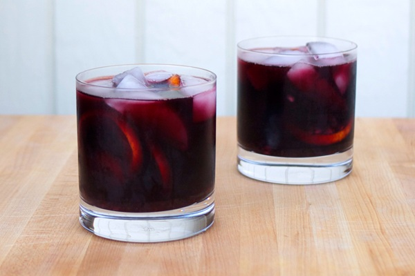 Burnt Sage and Blackberry Sangria for Two from Stir and Strain