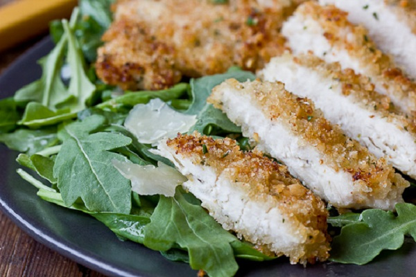 Herbed Panko Chicken from The Kitchn
