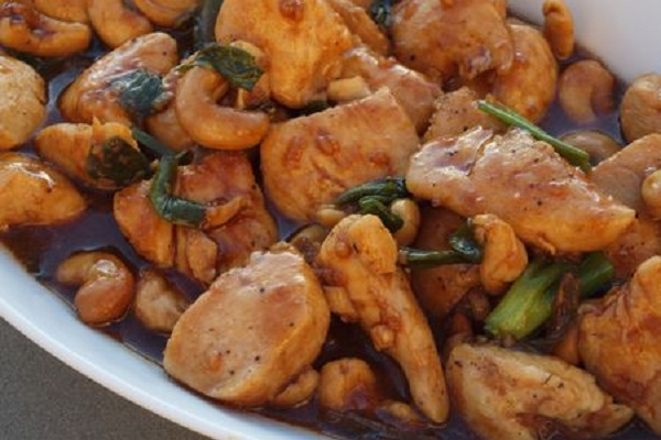 Cashew Chicken from Once Upon a Chef