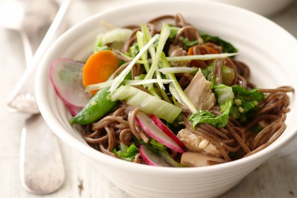 Soba Noodle Salad With Spring Vegetables from Food Republic Photo by Better Homes and Gardens