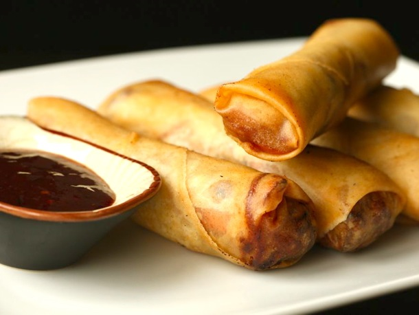 Crispy Pork and Cabbage Egg Rolls from Serious Eats Photo by J. Kenji Lopez-Alt