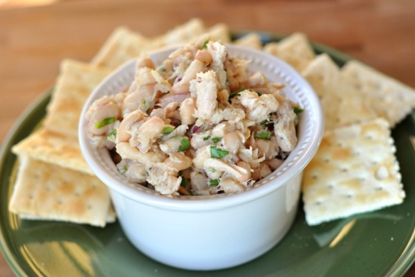 White Bean and Tuna Salad from Mel's Kitchen Cafe