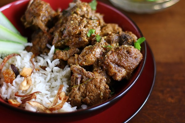 Mutton Roganjosh - North Indian Lamb Curry from Indugets Cooking