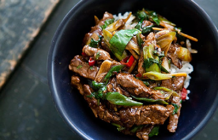 Stir Fry Ginger Beef from Simply Recipes