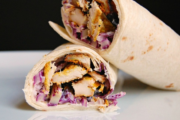 Curry Chicken Wraps from Wee Eats