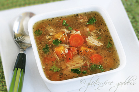 Crock Pot Turkey Soup