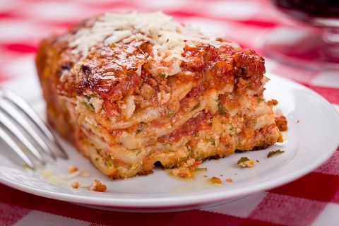 Lighter Whole Wheat Lasagna