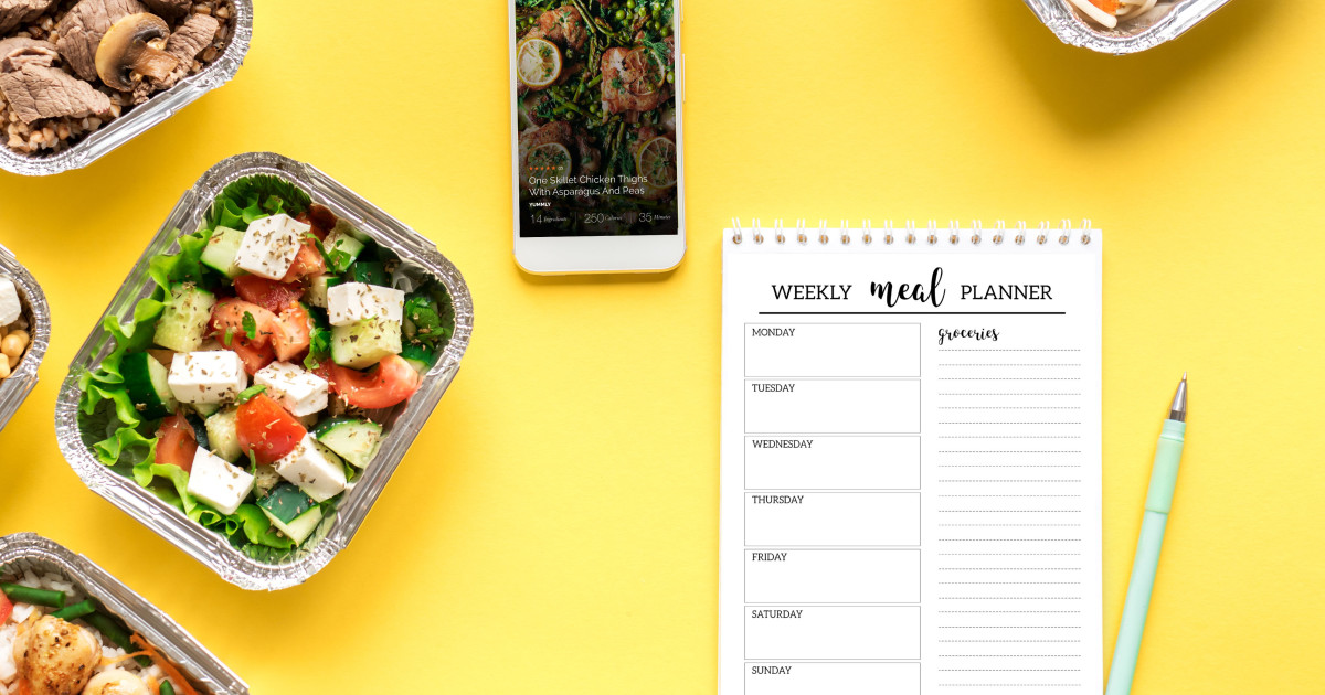 Plan meals using your phone with Yummly.