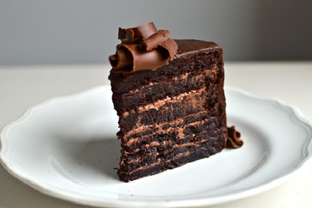 Flourless Chocolate Mountain Cake from Yammie's Gluten Freedom