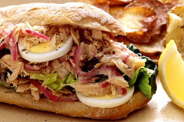 Tuna Nicoise Salad Sandwiches from Martha Stewart
