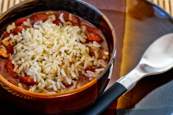 Louisiana-Style Red Beans and Rice from Kalyn's Kitchen