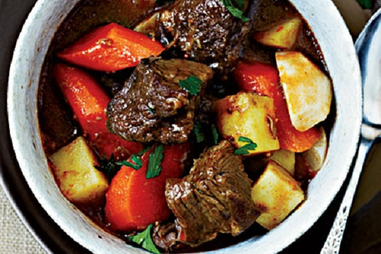 Guinness Lamb Stew from My Recipes Photo by John Autry