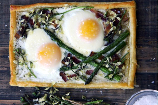 Spring Breakfast Tart from Camille Styles