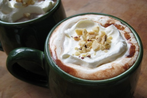 Roasted Hazelnut Hot Chocolate