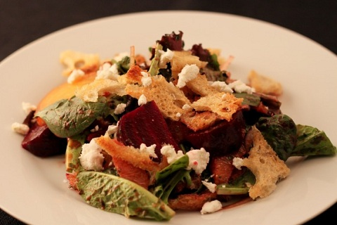 Beet Salad with Citrus and Goat Cheese