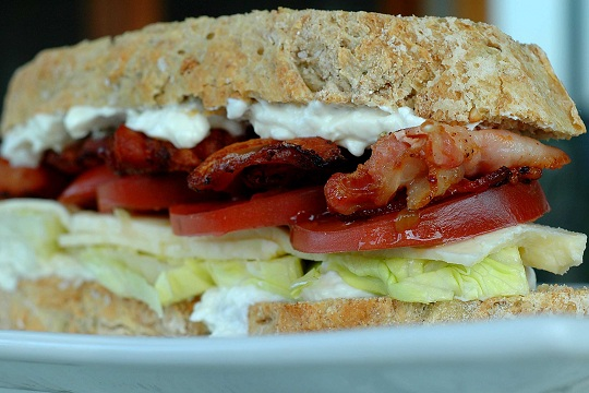 BLT with Country Cheese
