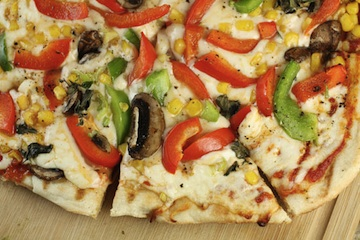 Grilled Veggie Pizza (from Macheesmo)