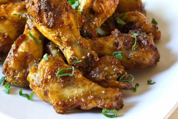 Spicy Chicken Wings with Apple Onion Dip from A Spicy Perspective