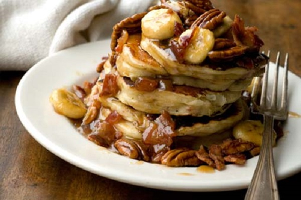 Bacon Banana Pancakes from Homesick Texan