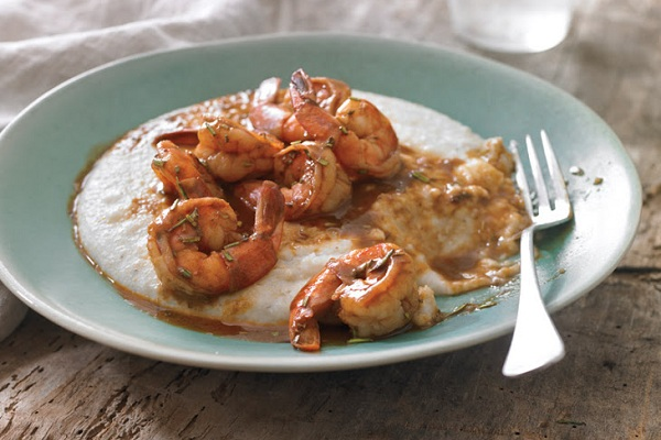 New Orleans-Style BBQ Shrimp & Grits from Taste
