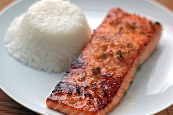 Miso-Ginger Marinated Salmon from Serious Eats