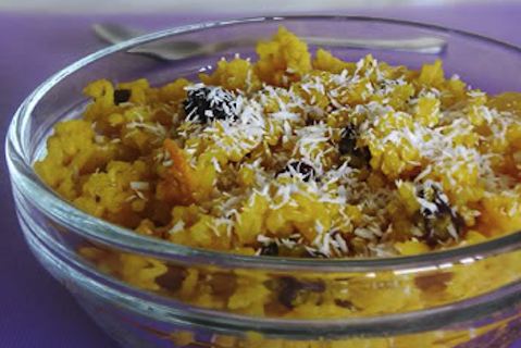 Sweet Yellow Rice
