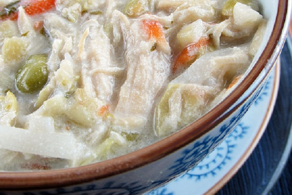 Thai Coconut Chicken Noodle Soup from Cinnamon Girl Recipes