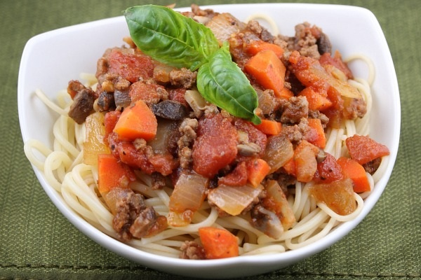 Weight Watchers Spaghetti Bolognese from Recipe Girl