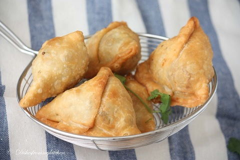Mashed Potato Samosa
