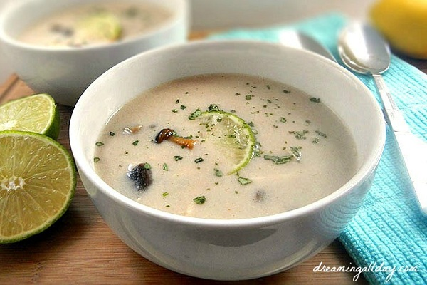 Slow Cooker Thai Coconut Soup from Dreaming All Day