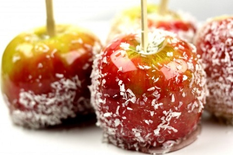 Coconut Candied Apples