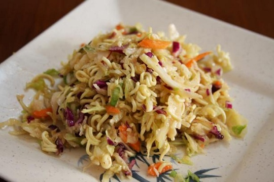 Charmie's Chinese Coleslaw Photo by Enjolinfam