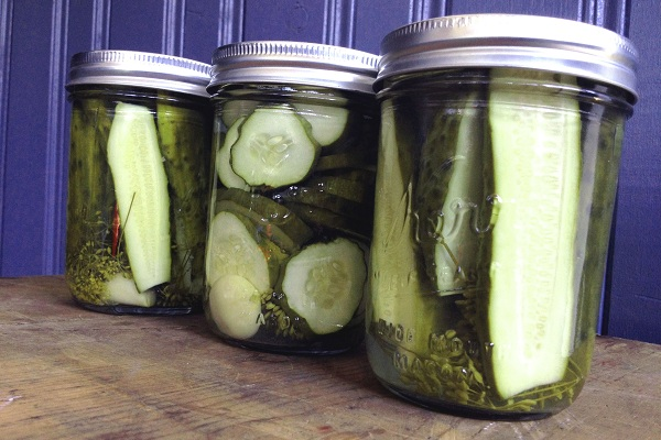 How to Make Pickles by Gillian of The Haas Machine