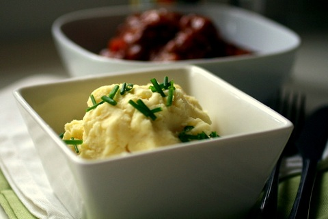 Marscapone Mashed Potatoes with Chives