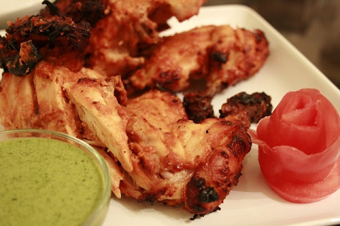 Oven Roasted Tandoori Chicken