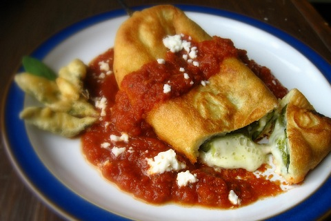 Chile Rellenos - Cheese Stuffed Poblano Peppers