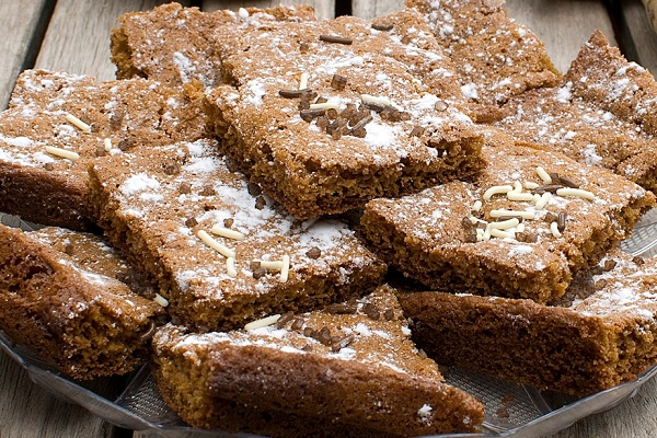 Gingerbread Brownies by Baked Chicago