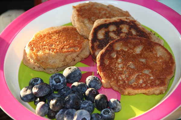 Yogurt Oatmeal Pancakes