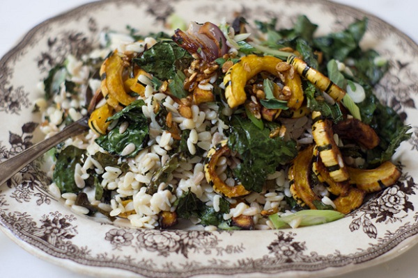 Roasted Vegetable Orzo from 101 Cookbooks