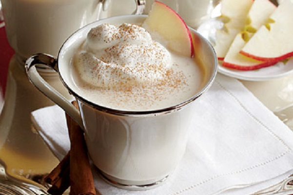 Hot Cider Nog from My Recipes