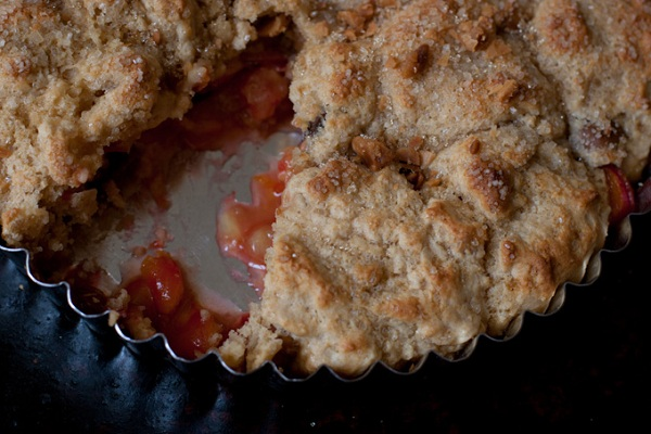 Cherry Cobbler from 101 Cookbooks