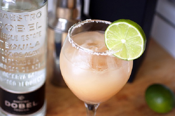 Grapefruit Margarita with Dobel Tequila from Bionic Bites