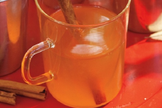 Hot and Nutty Whiskey Sours from Martha Stewart