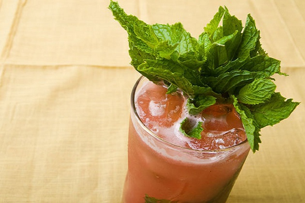 Watermelon Mint Lemonade from Serious Eats Photo by Dave Katz