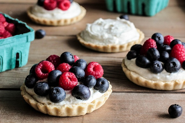 Berry No-Bake Cheesecake Tarts from Pastry Affair