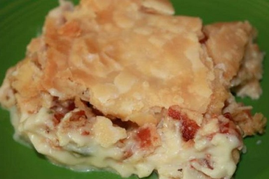 Chicken Bacon Pie