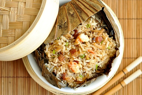 Lotus Leaf Wrapped Rice