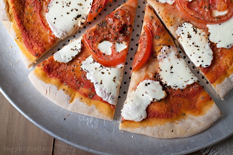Whole Wheat Margherita Pizza