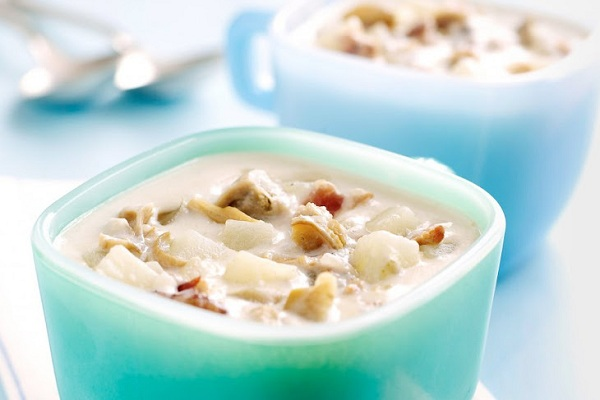 Vineyard Clam Chowder from Food Republic